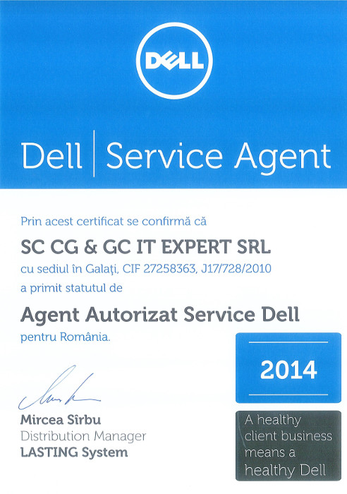 CG&GC iT-eXperT - service DELL